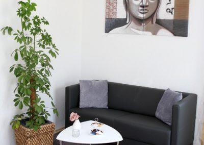 Sitzecke Empfangs- und Besprechungsraum
